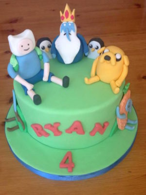 Boys Cakes by Lisa